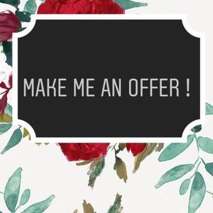 willing to negotiate reasonable offers!! 💛